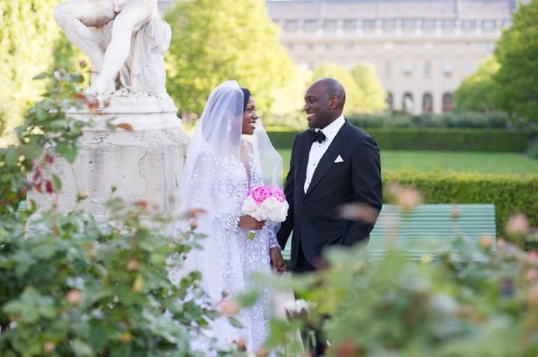 , Paris luxury hotel wedding affair